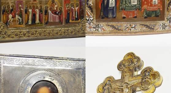 Sammlung antiker Ikonen