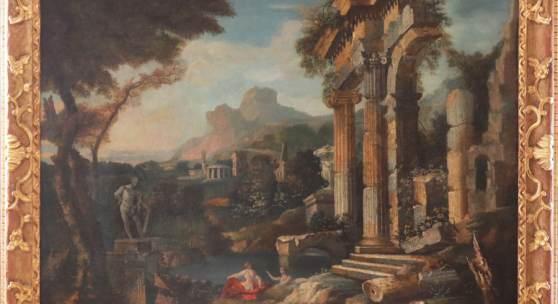 Los-Nr. 857  Nachfolge GIOVANNI PAOLO PANNINI (1691 Piacenza-1765 Rom) wohl 18. Jahrhundert,  Limit: 2.000,00 €