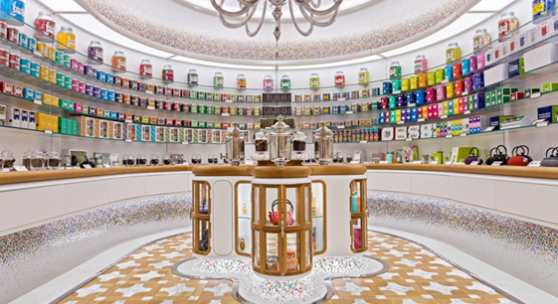 Tea launch new store at the World Trade Centre, New York