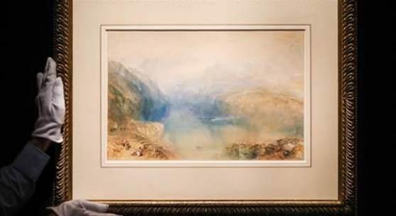 Turner, The Lake of Lucerne from Brunnen