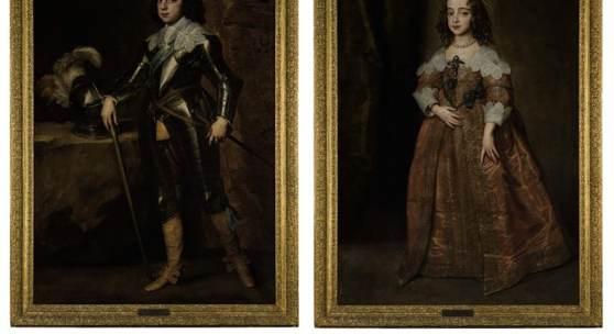 Sir Anthony Van Dyck, Portrait of Charles II