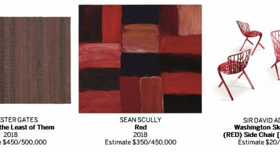 Sotheby's Debuts the Third (RED) Auction