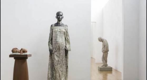Paweł Althamer, Ausstellungsansicht Sammlung Goetz, Foto: Thomas Dashuber, München