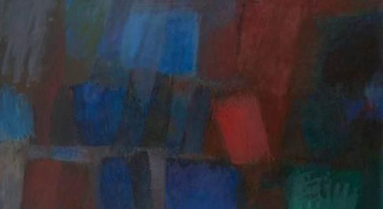 O.T., 1965, Öl auf Leinwand, 90 x 125 cm