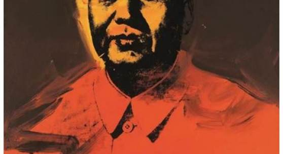 Andy Warhol's Mao, which was sold  for HK$98.5 million / US$12.6 million