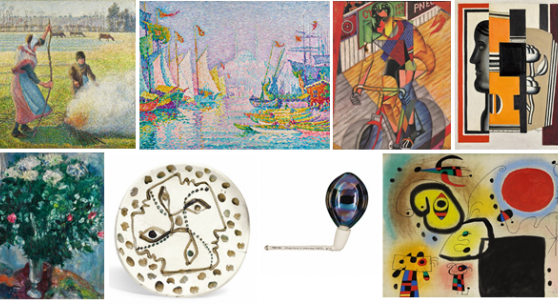 SOTHEBY'S IMPRESSIONIST, MODERN & SURREALIST ART HIGHLIGHT