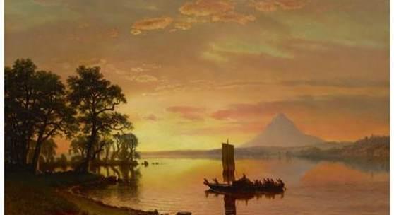 Led by Albert Bierstadt's Romantic Oregon Landscape for $2.2 Million