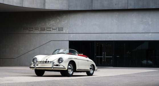 The 1956 Porsche 356 A 1600 S Speedster photographed at the Porsche Experience Center Atlanta (Credit – Matthew Jones © 2018 Courtesy of RM Sotheby's).
