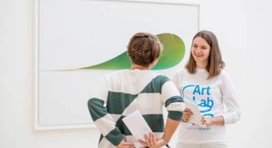 Fotografiert u.a. während der Ausstellung «Georg Baselitz» in der Fondation Beyeler, Riehen/Basel; © Georg Baselitz 2018; Fotos: Mathias Mangold