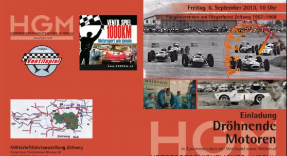 Flugplatzrennen am Fliegerhorst Zeltweg 1957-1968