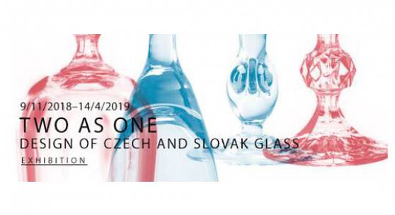 Two in one. Czech and Slovak glass design 1918 - 2018