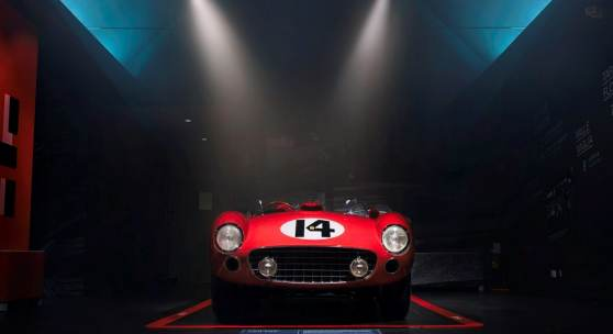 he Classiche restored and certified Ferrari 290 MM set to headline RM Sotheby's sale at the Petersen Automotive Museum (Diana Varga © 2018 Courtesy of RM Sotheby's)