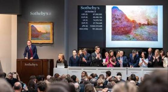 From Monet to KAWS: A $900+ Million Week of Auctions at Sotheby's Worldwide