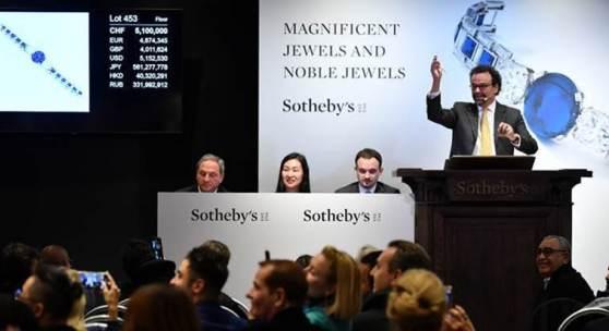 Cartier Bracelet sells for CHF/$ 6.1 million