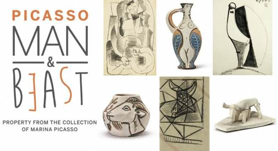 Picasso Man & Beast: Property from the Collection of Marina Picasso at Sotheby's NY, 18 May 2017