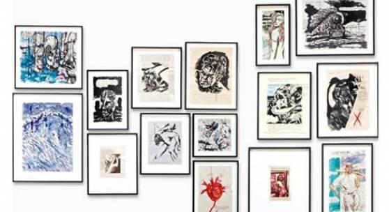 Raymond Pettibon's Iconic Works on Paper
