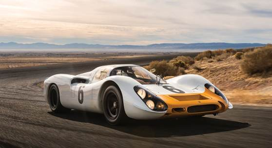 Sotheby's Announces Porsche 908 Works