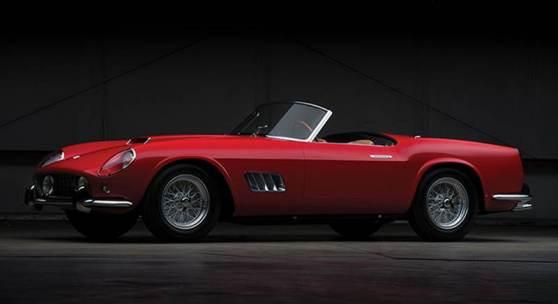Ferrari Auction Rm Sotheby S Gathers Seven Decades Of Ferrari S Finest For Maranello Sale Findart Cc