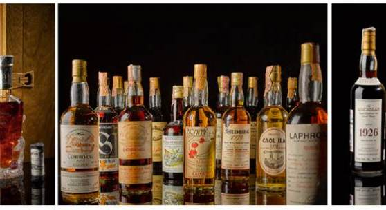 Most Valuable Collection of Whisky