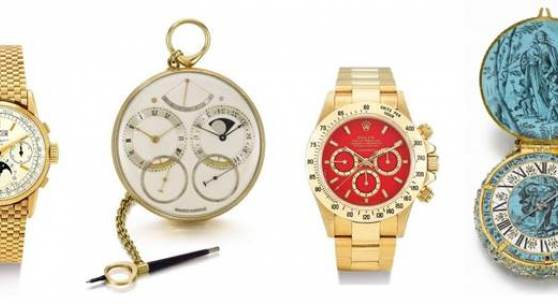 Record Year for Watches at Sotheby'