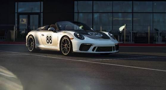 Porsche 911 Speedster, front (Credit - Courtesy of Porsche Cars North America)