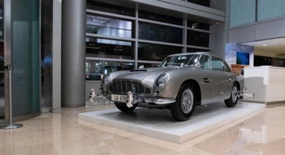 James Bond Aston Martin Db5 Now On View At Sotheby S New York Findart Cc