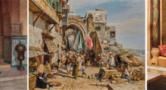 Najd Collection of Orientalist Paintings Heads to Auction