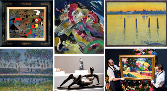 Sotheby's London June 2017 Impressionist & Modern Art Sale Series Totals £168.5 million / $212.6 million / €191.9 million