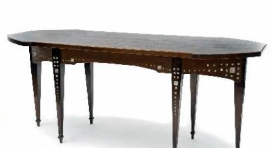 Salontisch, um 1902/03 Richard Riemerschmid Zuschlag: € 8.500 Los 312, Auktion 73