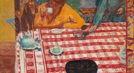 Pierre Bonnard, Der Kaffee, 1915, Le Café, Öl auf Leinwand, 73×106,4 cm , Tate. Presented by Sir Michael Sadler through the Art Fund 1941 © Tate, London 2019
