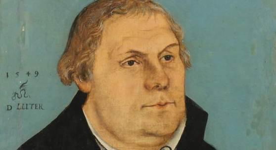 """Cranach, Lucas """"Bildnis Martin Luthers"""" von ihm und seiner Werkstatt an (40.000 €)"""