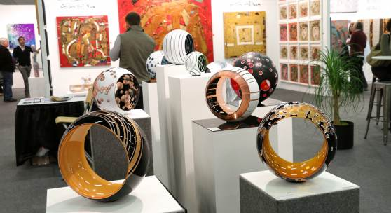 2019 exhibiting artists and Artexpo New York exhibition photography (credit 'Redwood Media Group')
