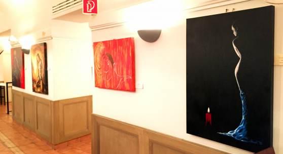 Ausstellung - Werner Szendi - TOP-Lokal, 1010 Wien, Fleischmarkt 18