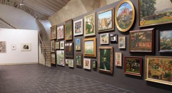 """Ausstellungsansicht: """"Gartenträume - Traumgärten"""" Kunstmuseum Thurgau."""
