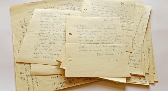 Auswahl an Briefen von Alfred Polgar an Carl Seelig - © Österreichische Nationalbibliothek