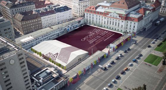 Art Austria Highlights 2021 am Areal des Wiener Eislauf-Vereins, Fotocredit: Michael Otto