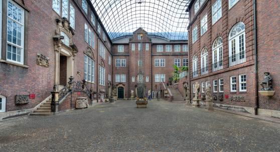 Der Innenhof im Museum für Hamburgische Geschichte, Foto jensoestreicher.de
