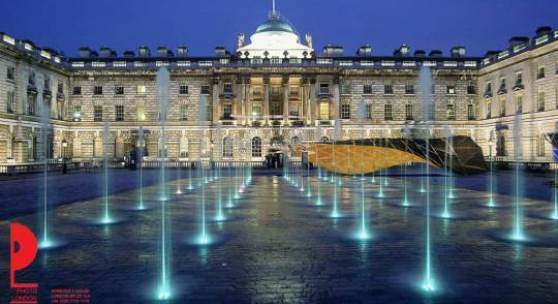 Photo London Somerset House courtyard