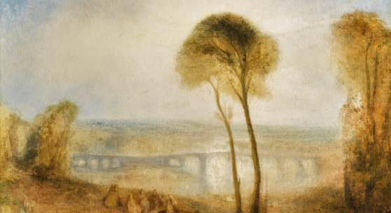 Rare, late work by J.M.W. Turner to highlight Sotheby's July  Old Master Evening Sale Landscape with Walton Bridges unveiled today in Moscow