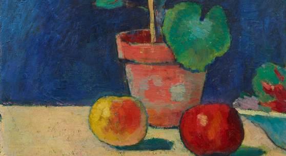 Alexej Jawlensky (1867 – 1941)  Geranien | Um 1907 | Öl auf Karton | 49,5 x 37,5 cm Ergebnis: 232.200 Euro