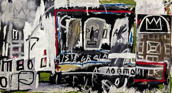 """I wanted to paint like the Lower East Side and what it was like to live there."" – Jean-Michel Basquiat"