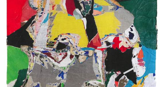 Asger Jorn: Abstraction faite d'un tas de choses / Bortsett fra en hel masse ting (Abstraction over a lot of things / Apart from a whole bunch of stuff), 1968, Collage, 144 x 129 cm, Canica Art Collection © VG Bild Kunst