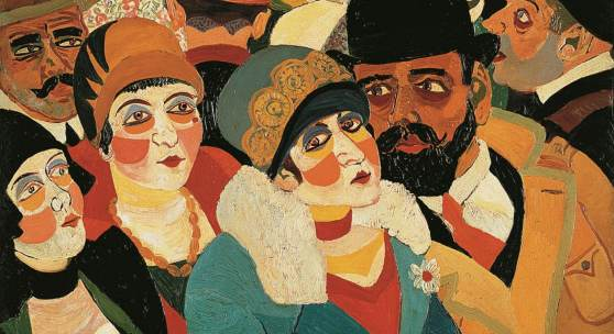 Josef Scharl, Pariser Straßenszene, 1930, Sammlung Karsch-Nierendorf, © Susanne Fiegel