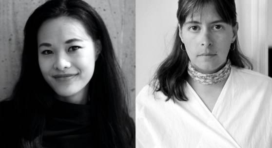 Left: Junni Chen, photo: Anton Ginzburg. Right: Sophia Scherer, photo: Lion Graf.