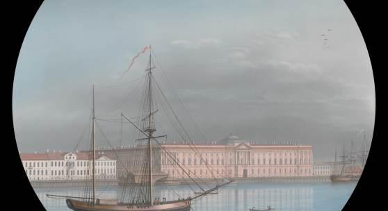 Barth: Schiffe vor St. Petersburg