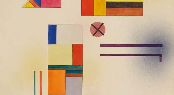 Kandinsky, Hartweich (Hard Soft), No. 390