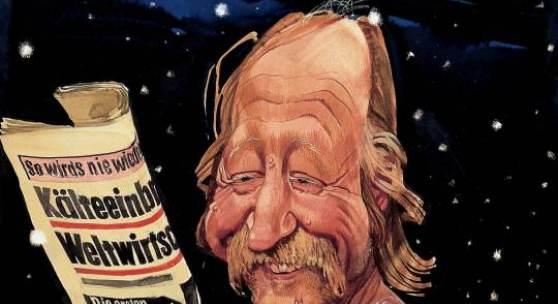 """Erich Sokol Karl Merkatz als Edmund """"Mundl"""" Sackbauer, 1978 Provenienz: Sammlung des Landes Niederösterreich Foto: Christoph Fuchs © Erich Sokol Privatstiftung, Mödling"""
