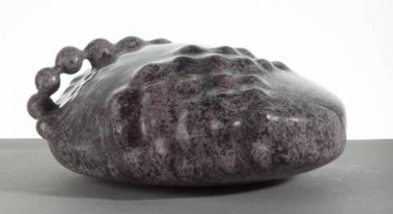 Karl Prantl Stein zur Meditation, Indischer Granit, 2009 © Foto: Lukas Dostal