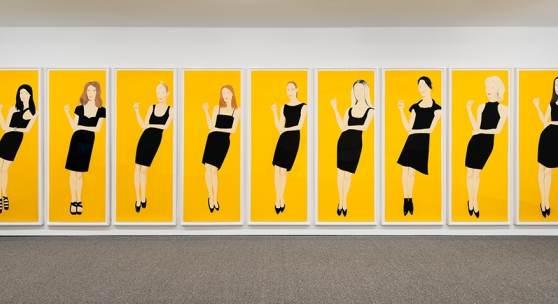 Alex Katz – Nine Black Dresses