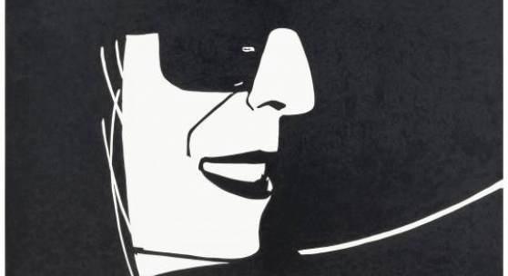 Big Black Hat (Ada) Alex Katz, 2013